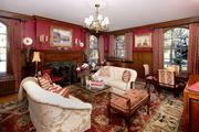 Taylor: A grand entry opens to a formal dining room and living room, shown here.