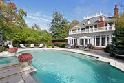 Taylor: The home sits on approximately 1.3 acres. The backyard features a large saltwater heated pool.