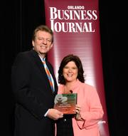 CNL Financial Group took the first award in the medium division.