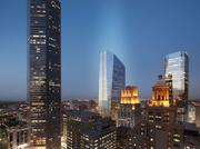 A rendering of 609 Main at Texas, which will alter downtown Houston's skyline.