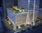 Private roof gardens will be available in select tenant spaces.