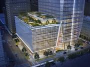609 Main at Texas is pre-registered LEED and is expected to attain Gold or Platinum certification.
