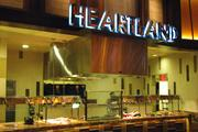 The main feature of the Heartland area is a churrasco grill.