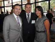 Jon Antevy, honoree Ron Antevy of e-Builder and Rachael Antevy.