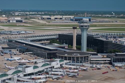 Chicago S O Hare Airport Ranked Second Busiest In The