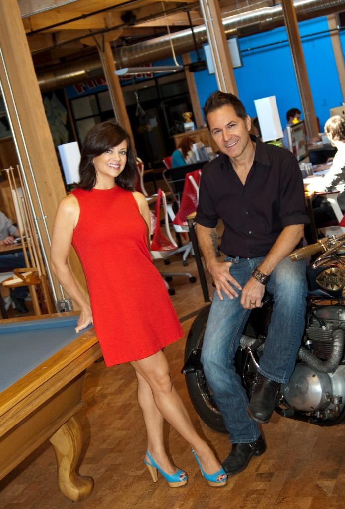 Buffy McCoy Kelly (left) and Rudy Banny of Tattoo Projects will head the Victory Motorcycles account.