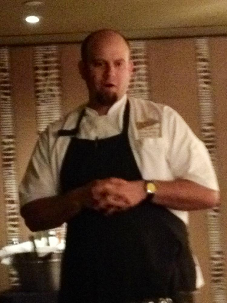 Chef Richard Hodge is the man behind Blvd 16.