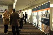 Guests network before the start of CREQ Live.
