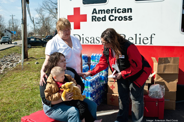 American Red Cross Cascades Region Red Cross volunteers provide basic immediate needs to people affected by disasters, big and small. Budget: $6.8 Million Staff: 22 Executive director: Maree Wacker Board chair: Pam Belli