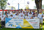 Cystic Fibrosis Foundation 2013 Portland Great Strides Walk at  Oaks Amusement Park: Eight-year old Ella and her team! Budget: $1 million Staff: 4 Executive director: Jan Klepinger