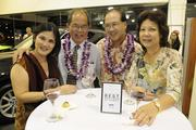 From left, Sharon and Stephen Oishi and Mark and Lynn Izawa.