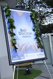 About 150 people, including many of the physicians on the Best Doctors 2014 Hawaii list, turned out for the Thursday event, which was sponsored by BMW of Honolulu and American Savings Bank.