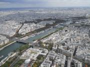 Paris, the city that inspired so much impressionist art. From the top of the Eiffel Tower.
