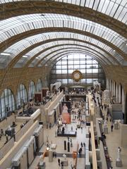 Musee d'Orsay, the former railway station that is now the world capital of the impressionists.