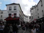 Montmartre in Paris, the neighborhood where so many French impressionists lived.