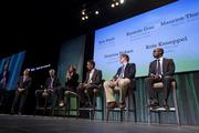 A panel of education leaders was featured at the event.