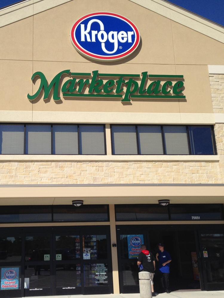Kroger Co. officials would like to open a Marketplace store in Louisville but haven't found a suitable site.