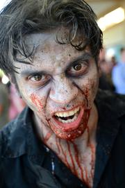 Nando Torres was starring in an Indie Cinema Showcase spotlighting the Spooky Empire convention.