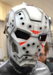 Iron Man meets Friday the 13th. So much win.