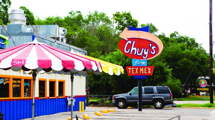 Chuy's has 56 Tex-Mex restaurants spread across southern states.