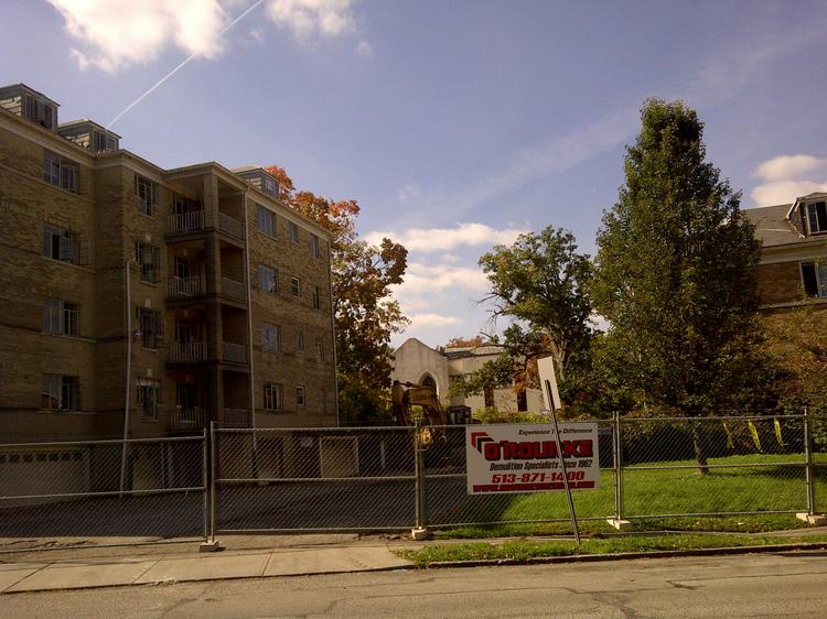 Demolition on properties starts today, making way for luxury condos in Hyde Park.