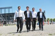 San Francisco-based Strada Investment Group recently formed an agreement to develop a city-owned site in downtown Oakland. The firm, made up principals (from left to right) Rajiv Parikh, Scott Stafford, Jesse Blout and Michael Cohen, are also working on a hotel site in Mission Bay in San Francisco.