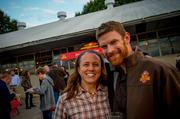 Wild Heaven Craft Beers founder Nick Purdy and wife, Jenn.