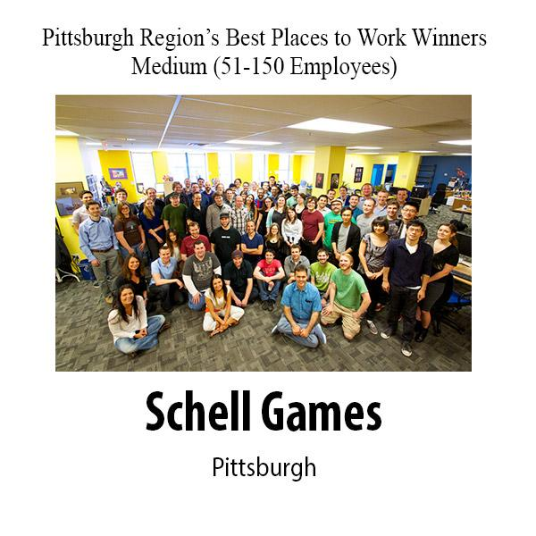 Best Places to Work winners for 2013 from the Pittsburgh Business Times.