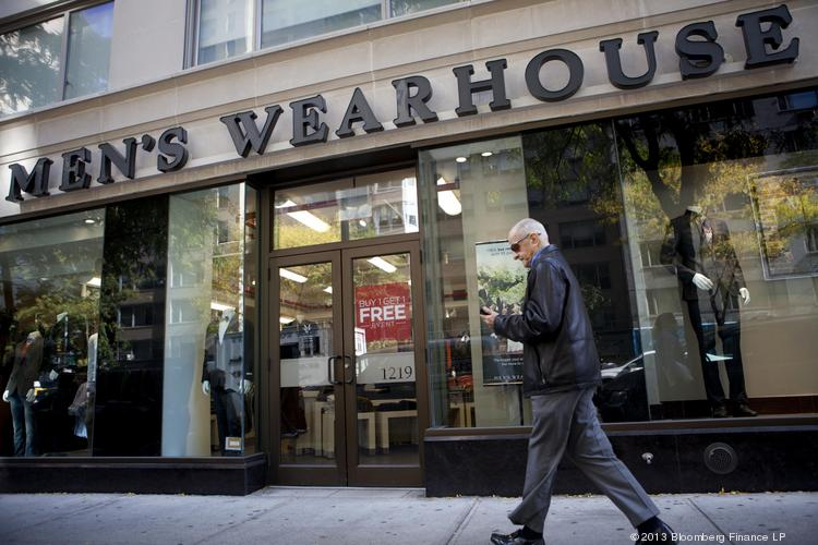Men's Wearhouse has denied Jos. A. Bank's request for buyout information.