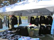 An apparel tent at the Head of the Schuylkill Tent.