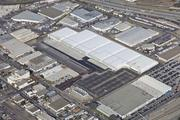 This aerial photo shows the SSF Logistics Center,  462,316-square-foot industrial property in South San Francisco.