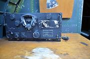 """Radio receiver and the Morse code equipment are seen in the Liberty Foundation's B-17 """"Memphis Belle"""" during the media demonstration on Monday, Oct. 28, 2013."""