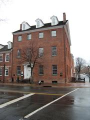 Gadsby's Tavern Museum 134 N Royal St   Alexandria, Va. 22314  The Gadsby was named after the buildings operator, John Gadsby. Gadsby operated the two buildings, the tavern and the City Hotel, from 1796 to 1808.   It is said that the Gadsby's Tavern Museum is haunted by a young lady who died in an upstairs bedroom in 1816. A glowing hurricane lamp can sometimes be seen in the window of that room.