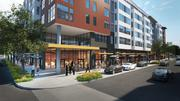 The project will have retail at the base of the building.