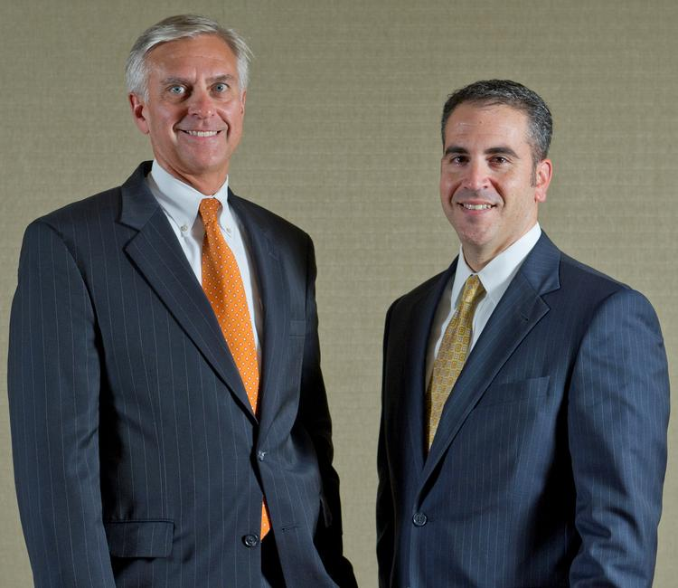 Archer Public Affairs Managing Director Richard S. Mroz, left, and Co-Managing Director William J. Caruso