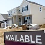 Home builders' index slips, but housing still on 'slow march to normal'