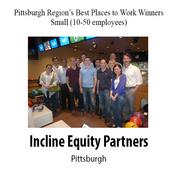 Best Places to Work Winners in the Small-Company Category from the Pittsburgh Business Times.