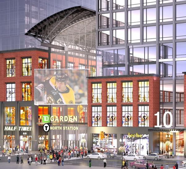 """The Boston Redevelopment Authority is poised to provide millions in tax concessions for the developers of the $1 billion mixed-use project slated to be built on a """"blighted"""" parking lot in front of the TD Garden."""