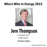 Who's Who in Energy 2013: Jere Thompson (Dallas)
