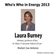 Who's Who in Energy 2013: Laura Burney (San Antonio)