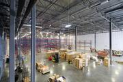 The property includes 45,000 square feet of warehouse and distribution space.