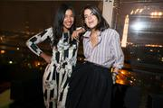 Hannah Brofman, left, with Leandra Medine.