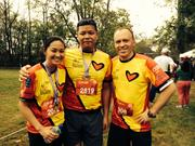 On Oct. 19, Fairmont Washington, D.C., Georgetown team members Cherul Chua, Jonathan Aquina and Alex Shevchenko participated in the Audi Best Buddies Challenge's 5K run in Leesburg.