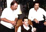Cousins Jimmy Swaggart, Jerry Lee Lewis and Mickey Gilley
