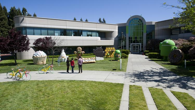 The Google campus in Mountain View. The search giant is expanding in Sunnyvale.