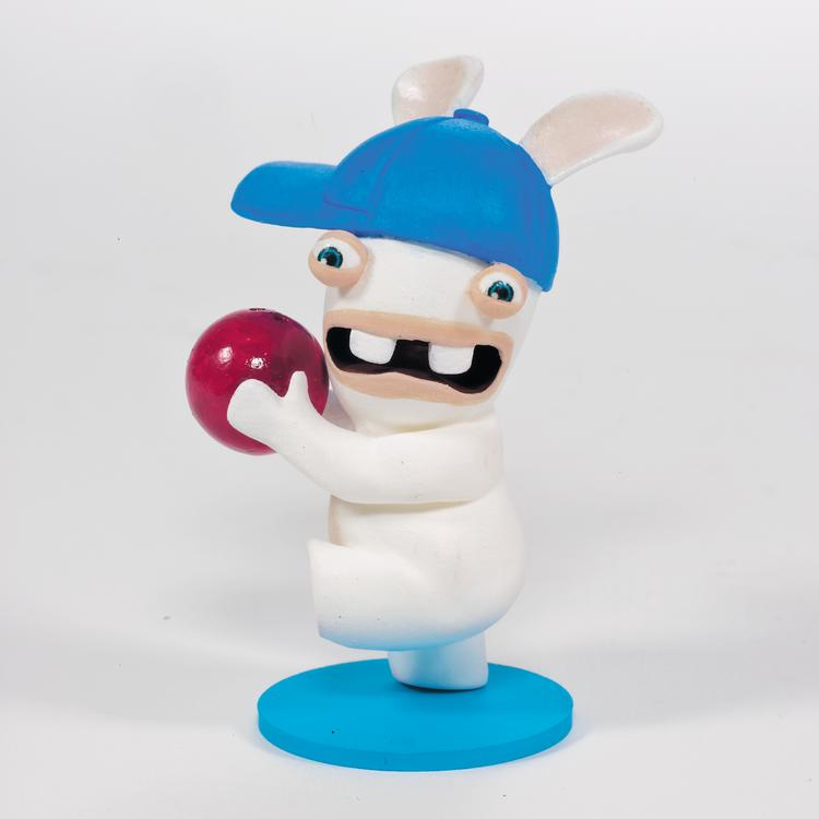 McFarlane Toys will create a line of toys based on Ubisoft's Rabbids franchise.