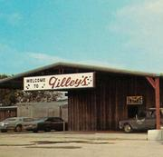 The original exterior of Gilley's