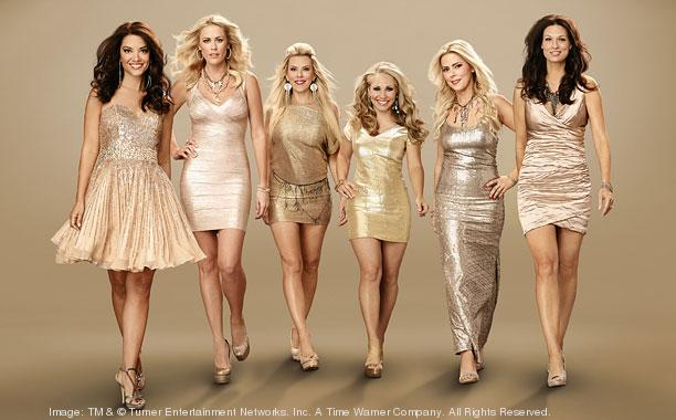 """The cast of """"Private Lives of Nashville Wives."""""""