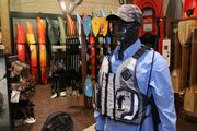 Each of the store's four corners are devoted to separate outdoor activities: archery, hunting, fishing and camping.
