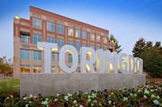 Trinity Capital owns four buildings at Toringdon, the south Charlotte office park, and recently rebranded the park with new building signs.